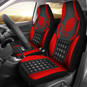 Open image in slideshow, Ln Turtle Red And Black Car Seat Covers