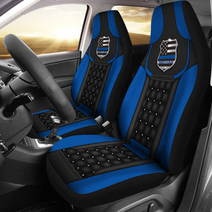 Open image in slideshow, Back The Blue Badge – Seat Covers Car Seat Covers