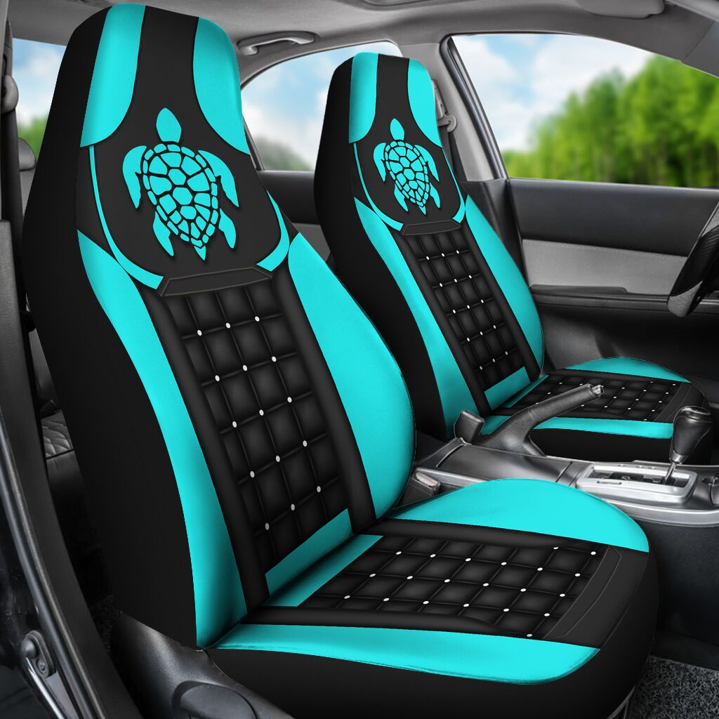 Turtle – Blue Seat Covers Car Seat Covers