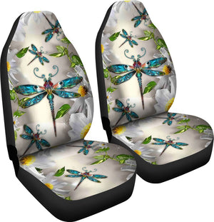 Dragonfly Flower Car Seat Lqt Car Seat Covers