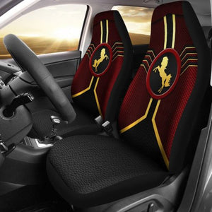 Horse Leather Mix Car Seat Lqt Car Seat Covers