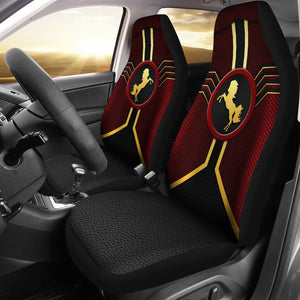 Open image in slideshow, Horse Leather Mix Car Seat Lqt Car Seat Covers