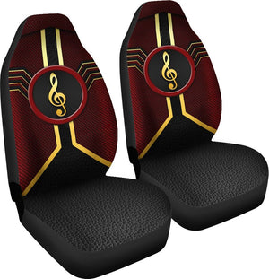 Music Leather Mix Car Seat Lqt Car Seat Covers