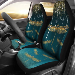 Decorative Gold Dragonfly - Car Seat Car Seat Covers