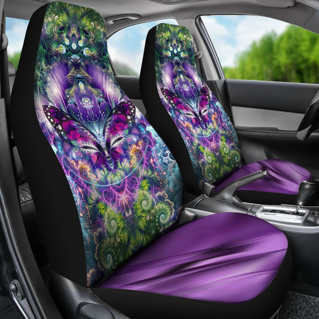 The Mythical Butterfly - Car Seat Car Seat Covers