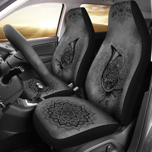 Open image in slideshow, French Horn Henna Car Seat Car Seat Covers
