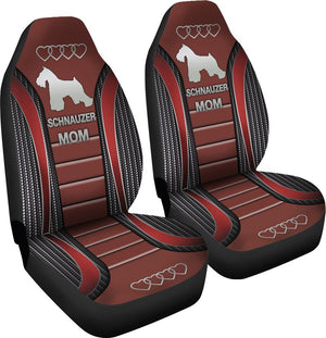 Schnauzer Mom Seat Covers Car Seat Covers