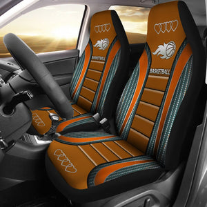 Open image in slideshow, Basketball Seat Covers Car Seat Covers