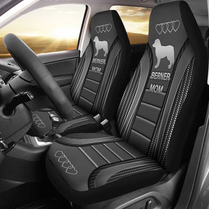Open image in slideshow, Bernese Mountain Seat Covers - Grey Car Seat Covers