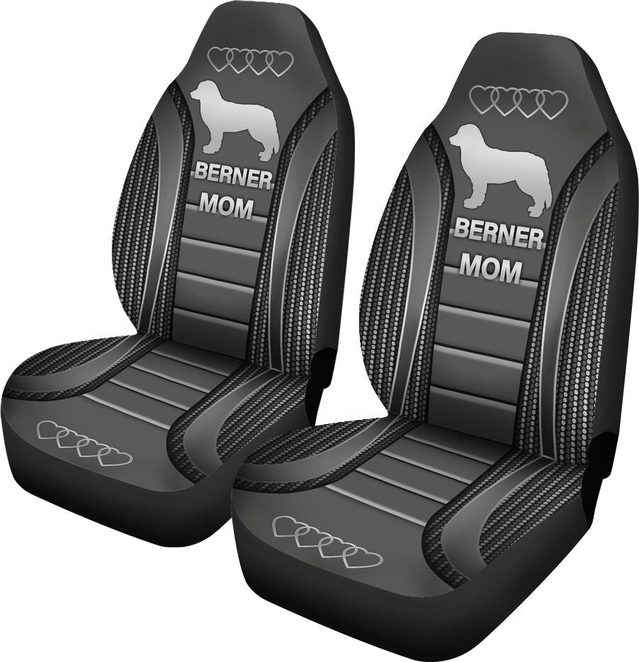 Bernese Mountain Seat Covers - Grey Car Seat Covers