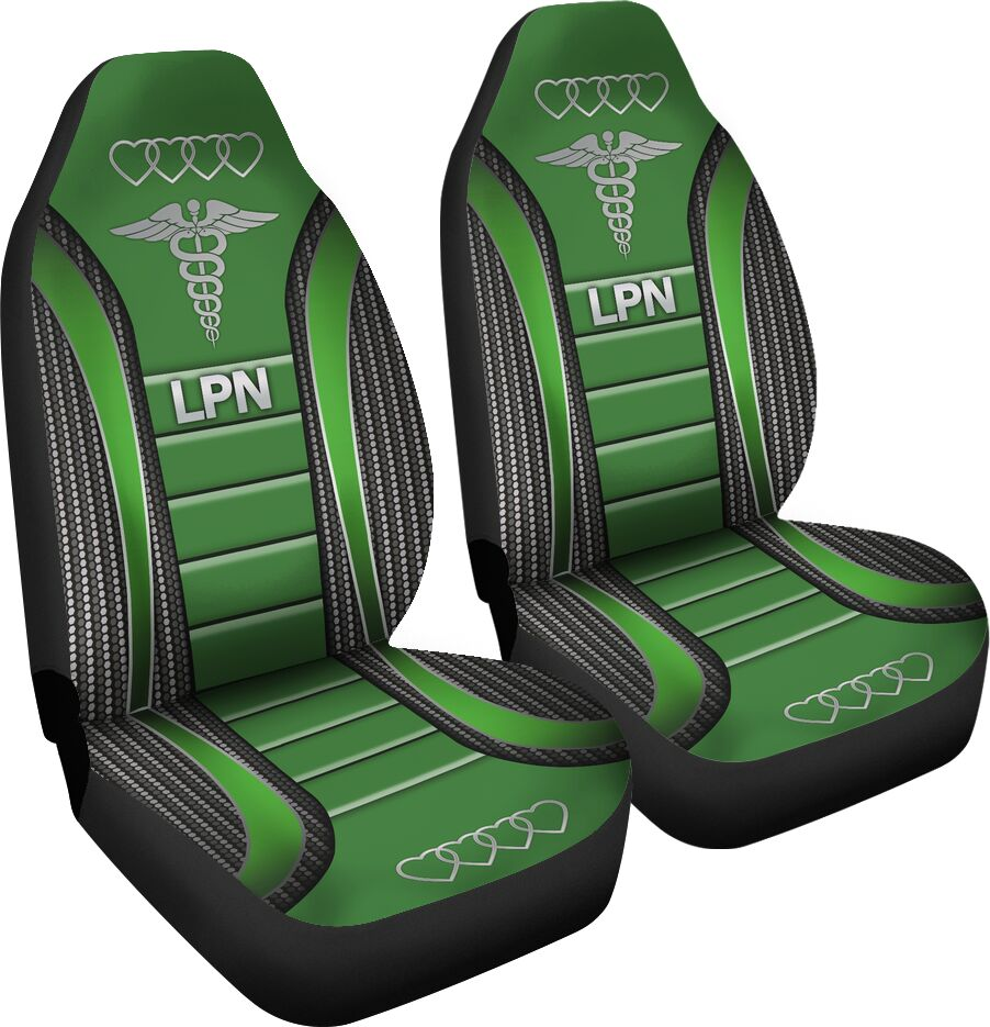 Lpn Seat Covers - Green Car Seat Covers