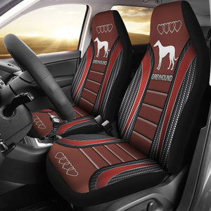 Open image in slideshow, Greyhound Seat Covers Car Seat Covers