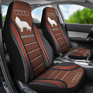 Rough Collie Seat Covers Car Seat Covers