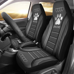 Open image in slideshow, Dog Dad Seat Covers Car Seat Covers