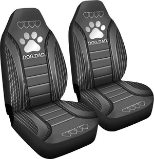 Dog Dad Seat Covers Car Seat Covers