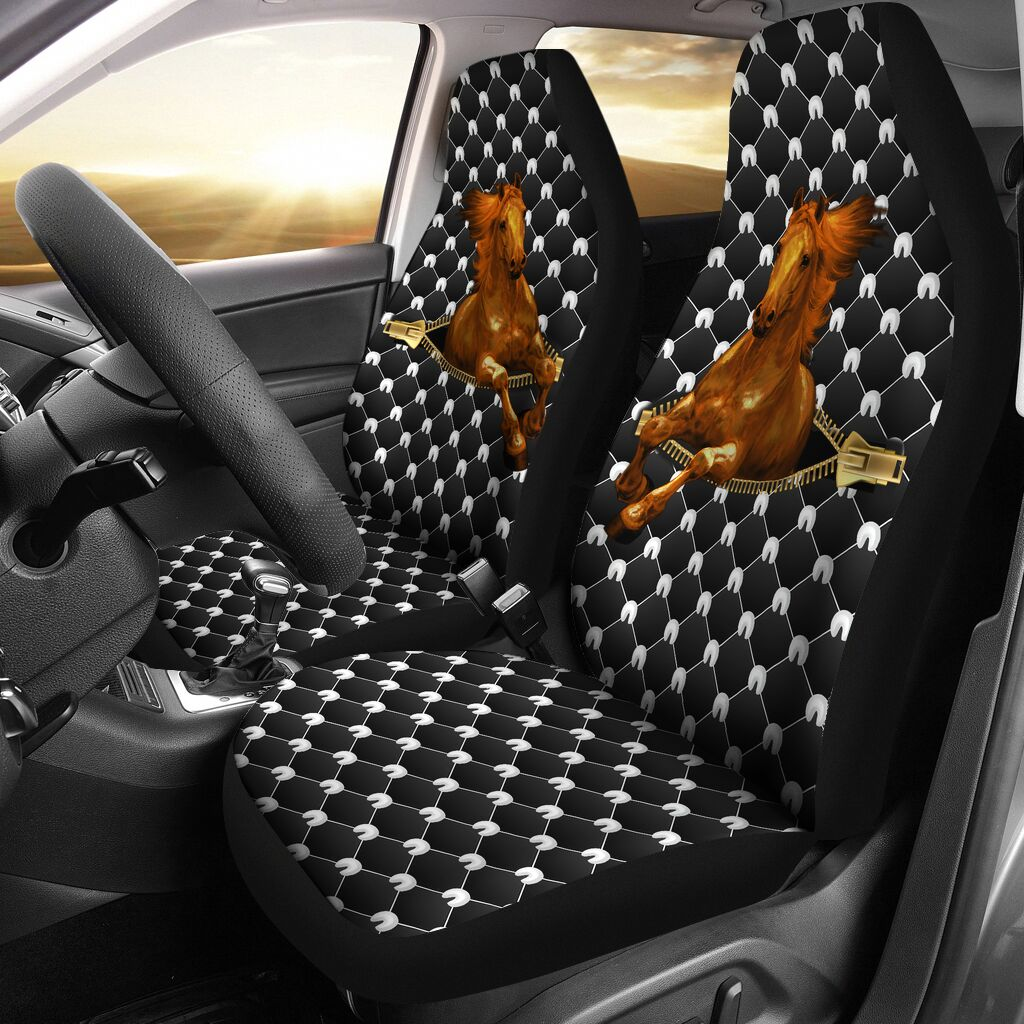 Horse Zipper - Car Seat Car Seat Covers