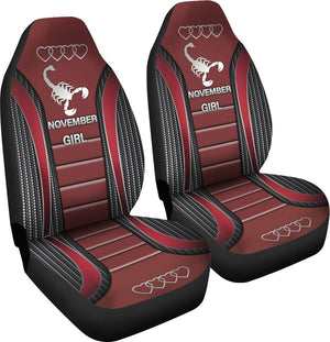 November Girl Seat Covers Car Seat Covers
