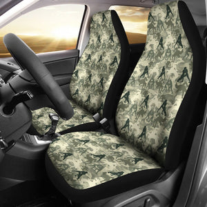 Open image in slideshow, Wrestling Seat Cover - Camo Car Seat Covers