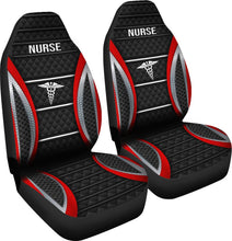Load image into Gallery viewer, Nurse Stripes - Car Seat Car Seat Covers