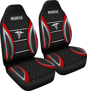 Nurse Stripes - Car Seat Car Seat Covers