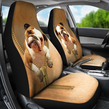 Load image into Gallery viewer, Bull Zipper - Car Seat Car Seat Covers