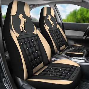 Horse Yellow - Car Seat Car Seat Covers