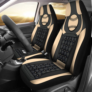 Open image in slideshow, Softball Yellow - Car Seat Car Seat Covers
