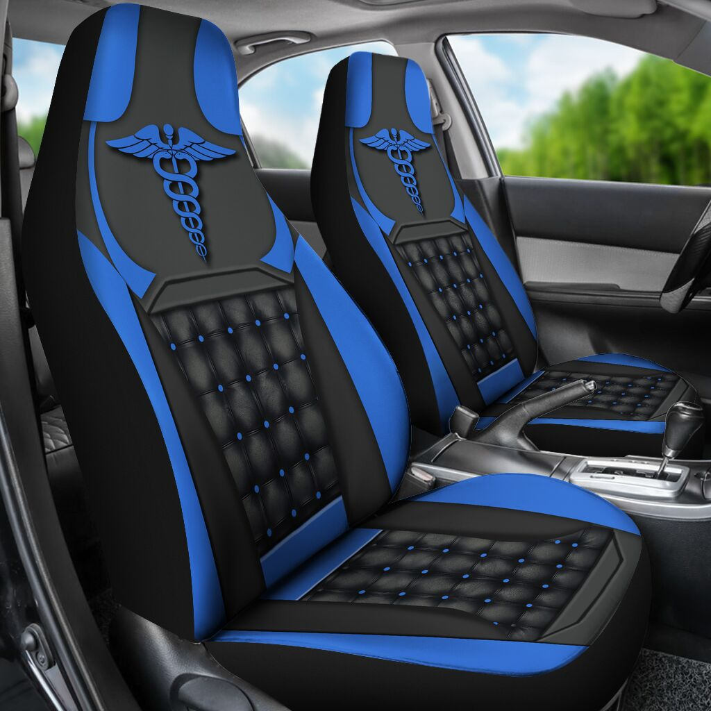 Nurse Blue - Car Seat Car Seat Covers