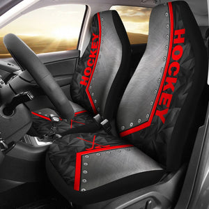 Open image in slideshow, Hockey Metal - Car Seat Car Seat Covers