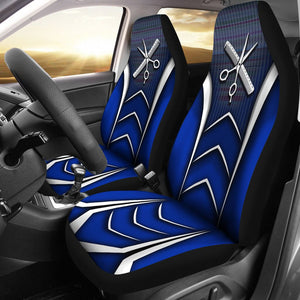 Open image in slideshow, Hairstylist Black Blue - Car Seat Car Seat Covers