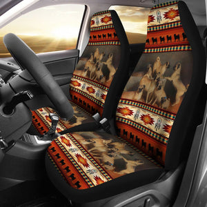 Open image in slideshow, Pug Native Vector - Car Seat Car Seat Covers