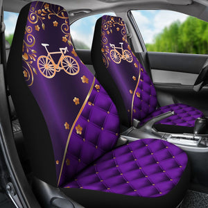 Cycling Peach Blossom - Car Seat Car Seat Covers