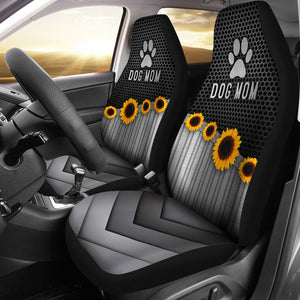 Open image in slideshow, Dog Mom Silver - Car Seat Car Seat Covers