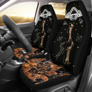 Open image in slideshow, Dachshund Place - Car Seat Car Seat Covers