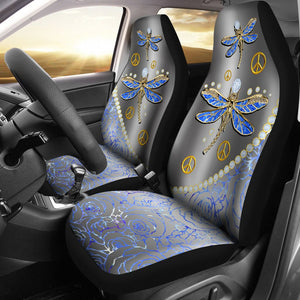 Open image in slideshow, Dragonfly Diamond - Car Seat Car Seat Covers