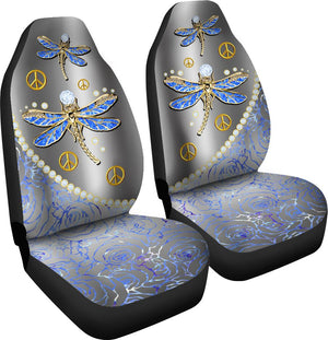Dragonfly Diamond - Car Seat Car Seat Covers