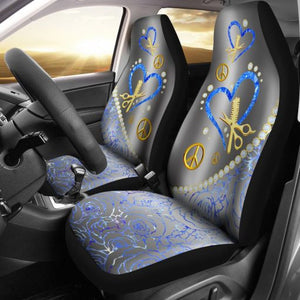 Hairstylist Diamond - Car Seat Car Seat Covers
