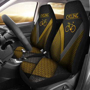 Open image in slideshow, Cycling Gold Pattern - Car Seat Car Seat Covers