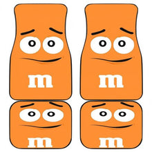 Load image into Gallery viewer, M&M Orange Chocolate Car Floor Mats