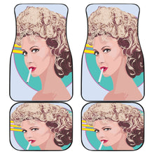 Load image into Gallery viewer, Olivia Newton John Famous Car Floor Mats