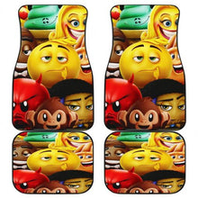 Load image into Gallery viewer, The The Emoji Movie Car Floor Mats
