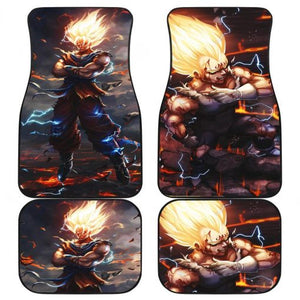 Majin Vegeta Dragon Ball Super Saiyan Car Floor Mats