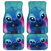Load image into Gallery viewer, Stitch 2019 Sad Face Cartoon Car Floor Mats