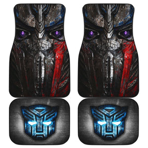 Open image in slideshow, Optimus Prime Face Transformers Car Floor Mats