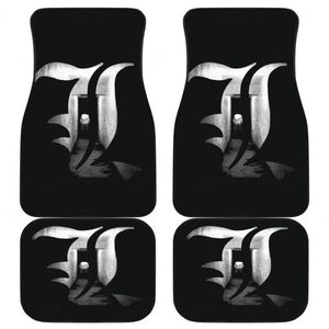 Death Note L in black theme Car Floor Mats
