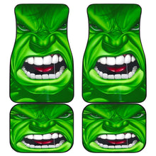 Load image into Gallery viewer, Hulk Angry Face Marvel Universe Car Floor Mats