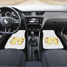 Load image into Gallery viewer, Pikachu Kiss Lovely Couple Pokemon Car Floor Mats