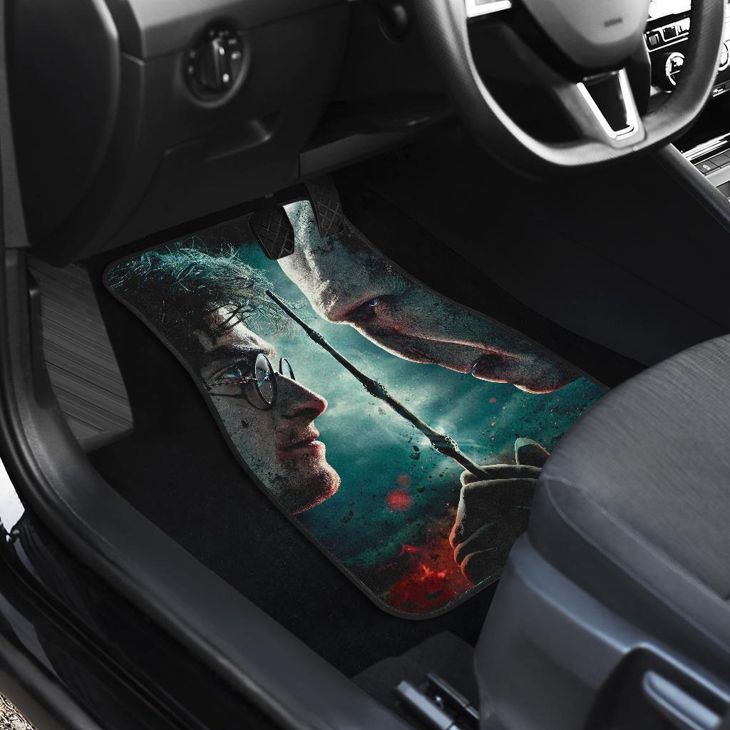 Harry Potter And The Deathly Hallows Voldemort Car Floor Mats