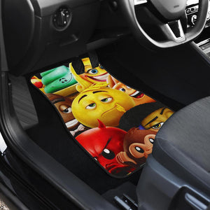 The The Emoji Movie Car Floor Mats
