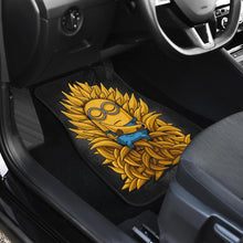 Load image into Gallery viewer, Minion King Of Bananas Funny Cartoon Car Floor Mats